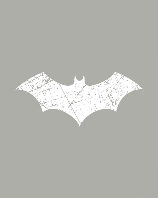 Shop Logo Batman Glow In Dark Half Sleeve T-Shirt (BML) -Full