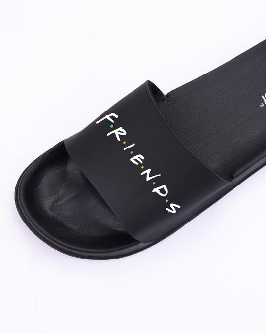 Shop Logo Friends Lightweight Men's Slider (FRL) Black