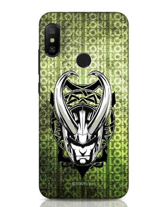 Shop Loki Xiaomi Redmi Note 6 Pro Mobile Cover (AVL)-Front