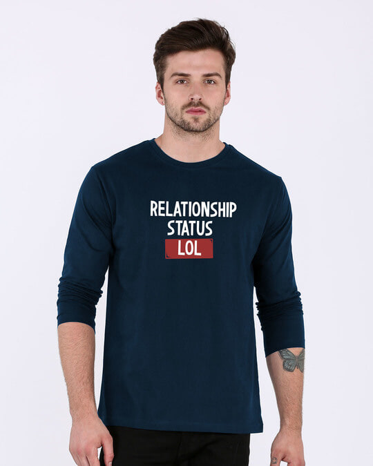 Shop Lol Status Full Sleeve T-Shirt-Front