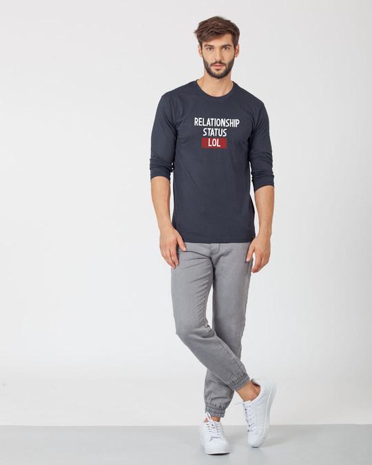 Shop Lol Status Full Sleeve T-Shirt
