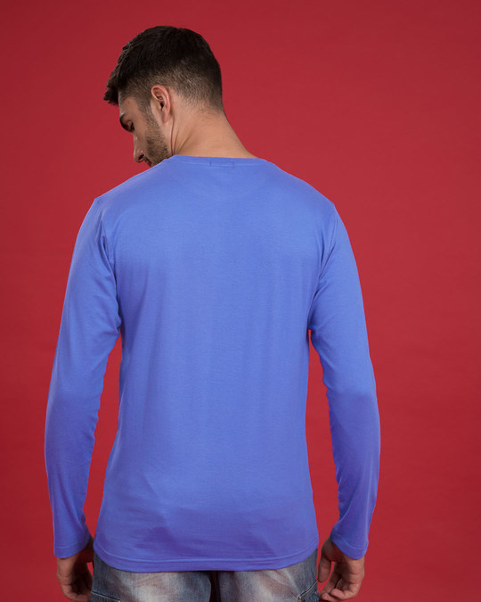 Shop Looking At A Legend Full Sleeve T-Shirt-Back