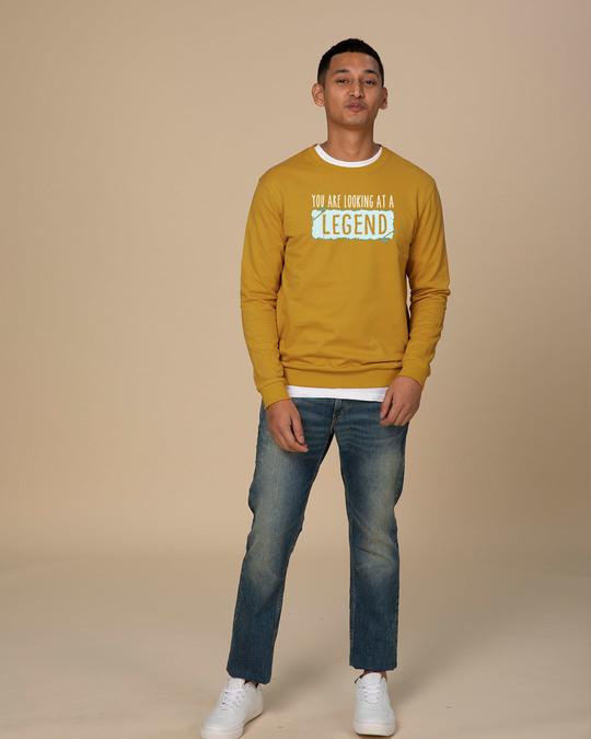 Shop Looking At A Legend  Sweatshirt
