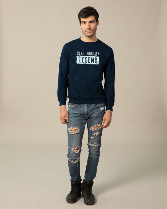 Shop Looking At A Legend  Sweatshirt-Full