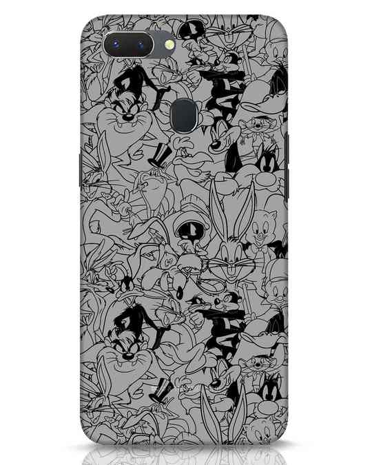 Shop Looney Toons Family Realme 2 Mobile Cover (LTL)-Front
