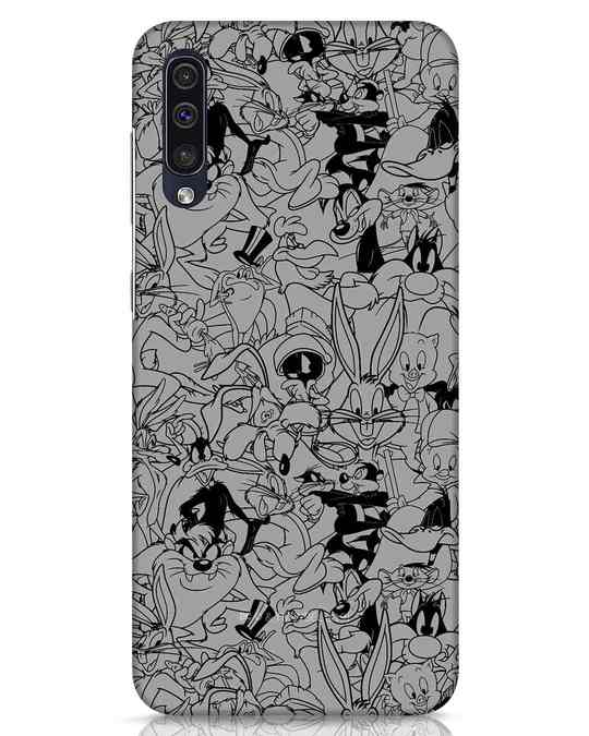 Shop Looney Toons Family Samsung Galaxy A50 Mobile Cover (LTL)-Front