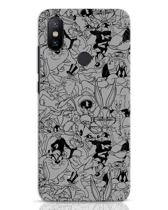 Shop Looney Toons Family Xiaomi Mi A2 Mobile Cover (LTL)-Front