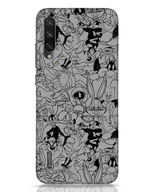 Shop Looney Toons Family Xiaomi Mi A3 Mobile Cover (LTL)-Front