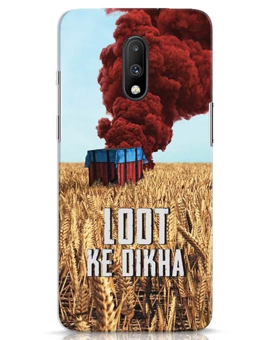 Shop Loot Ke Dikha OnePlus 7 Mobile Cover-Front