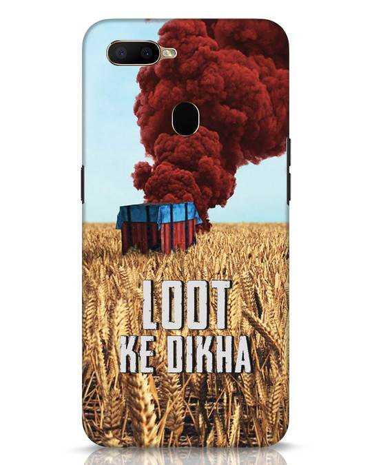 Shop Loot Ke Dikha Oppo A5s Mobile Cover-Front