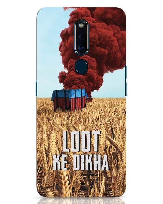 Shop Loot Ke Dikha Oppo F11 Pro Mobile Cover-Front