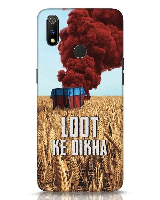 Shop Loot Ke Dikha Realme 3 Pro Mobile Cover-Front