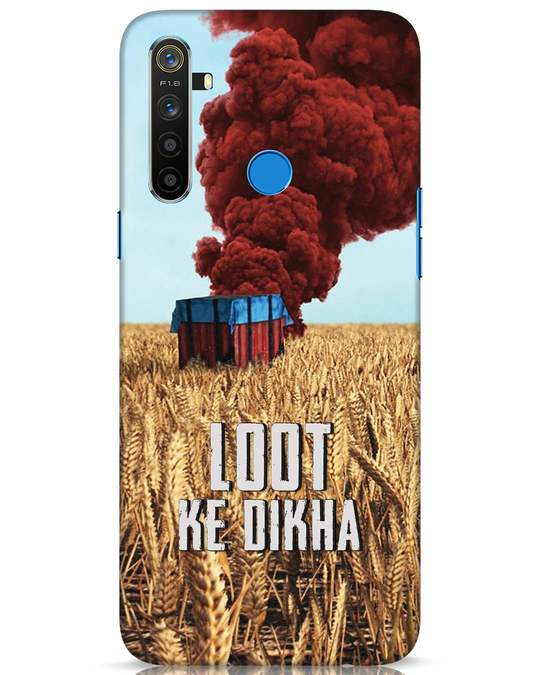 Shop Loot Ke Dikha Realme 5 Mobile Cover-Front