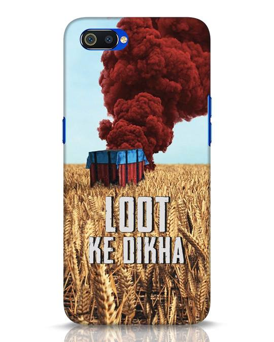 Shop Loot Ke Dikha Realme C2 Mobile Cover-Front