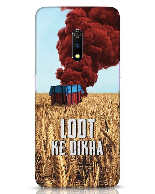 Shop Loot Ke Dikha Realme X Mobile Cover-Front