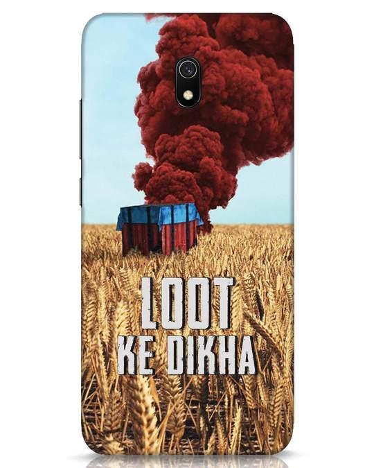 Shop Loot Ke Dikha Xiaomi Redmi 8A Mobile Cover-Front