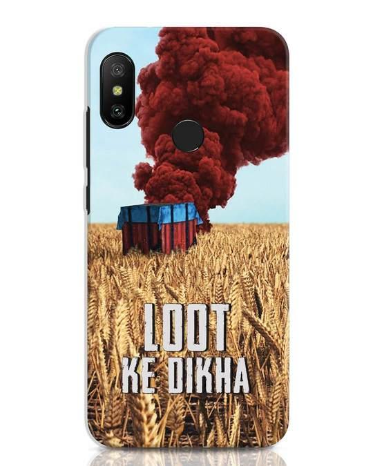 Shop Loot Ke Dikha Xiaomi Redmi Note 6 Pro Mobile Cover-Front