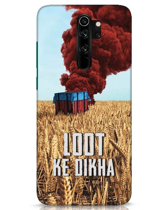Shop Loot Ke Dikha Xiaomi Redmi Note 8 Pro Mobile Cover-Front
