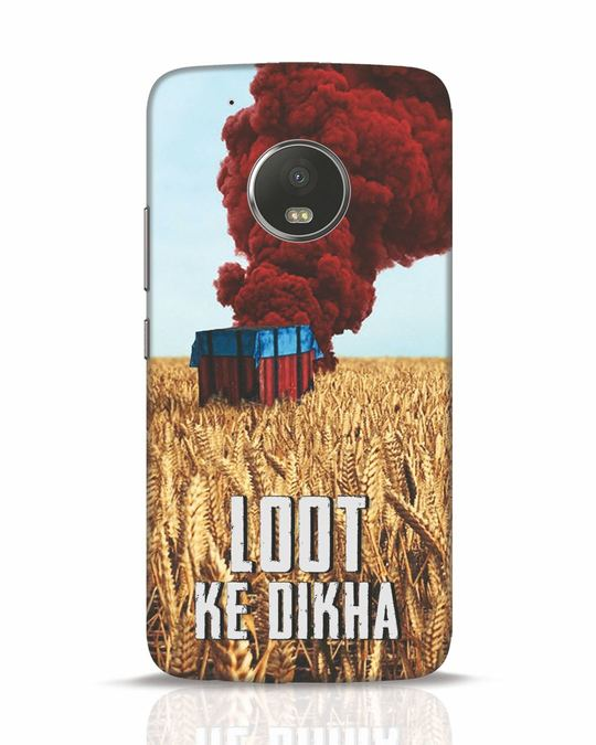 Shop Loot Ke Dlkha Moto G5 Plus Mobile Cover-Front