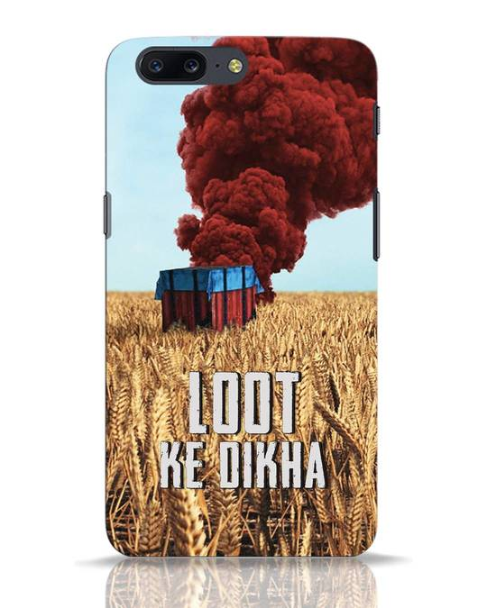 Shop Loot Ke Dlkha OnePlus 5 Mobile Cover-Front