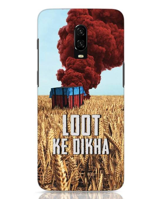 Shop Loot Ke Dlkha OnePlus 6T Mobile Cover-Front