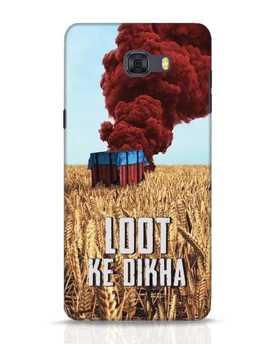 Shop Loot Ke Dlkha Samsung Galaxy C9 Pro Mobile Cover-Front