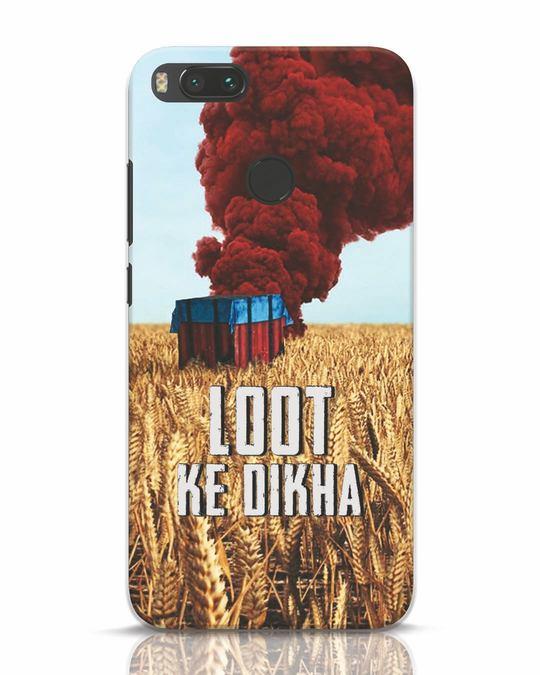 Shop Loot Ke Dlkha Xiaomi Mi A1 Mobile Cover-Front
