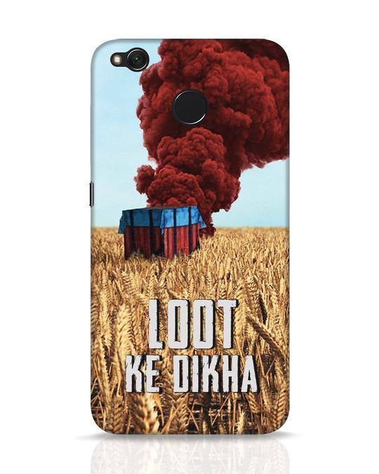 Shop Loot Ke Dlkha Xiaomi Redmi 4 Mobile Cover-Front