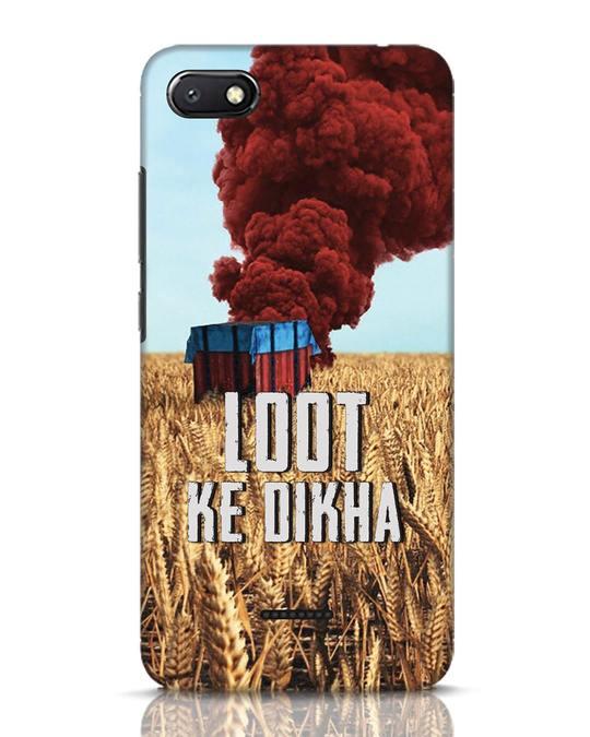 Shop Loot Ke Dlkha Xiaomi Redmi 6A Mobile Cover-Front