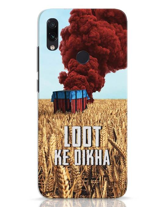 Shop Loot Ke Dlkha Xiaomi Redmi Note 7 Mobile Cover-Front