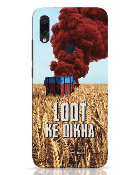 Shop Loot Ke Dlkha Xiaomi Redmi Note 7 Pro Mobile Cover-Front