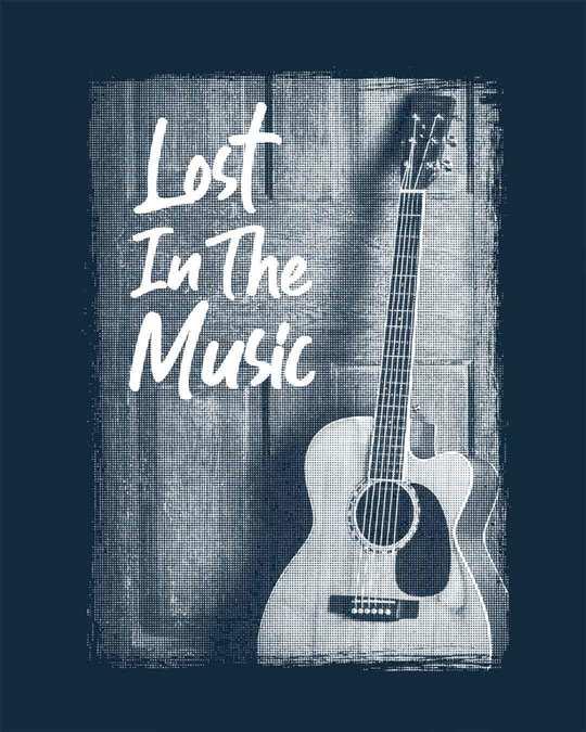 Shop Lost In The Music Boyfriend T-Shirt