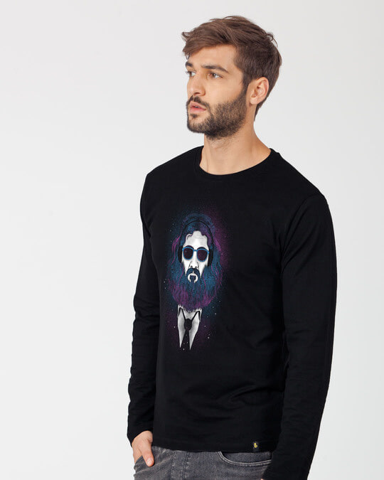Shop Lost In The Stars Full Sleeve T-Shirt-Back