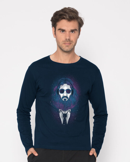 Shop Lost In The Stars Full Sleeve T-Shirt-Front