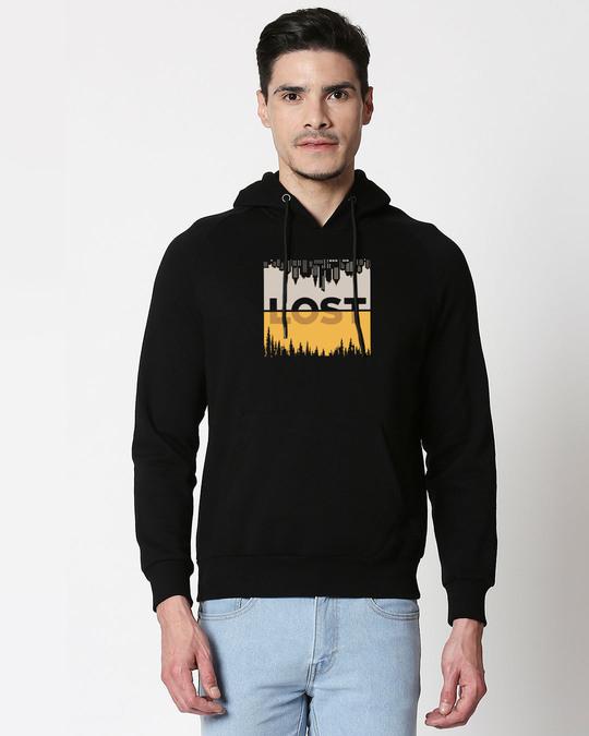 Shop Lost In Time Hoodie Sweatshirt-Front