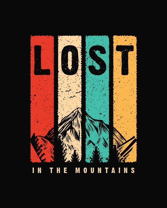 Shop Lost Mountains Boyfriend T-Shirt