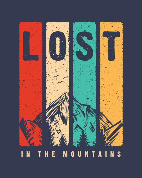 Shop Lost Mountains Full Sleeve T-Shirt