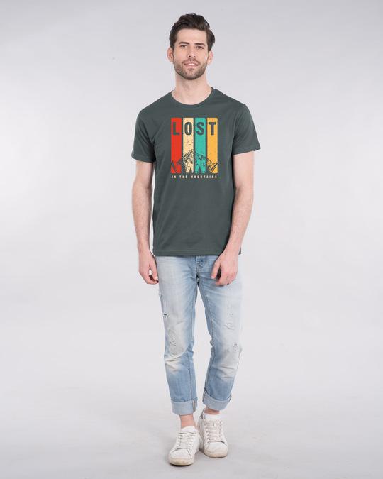 Shop Lost Mountains Half Sleeve T-Shirt-Design
