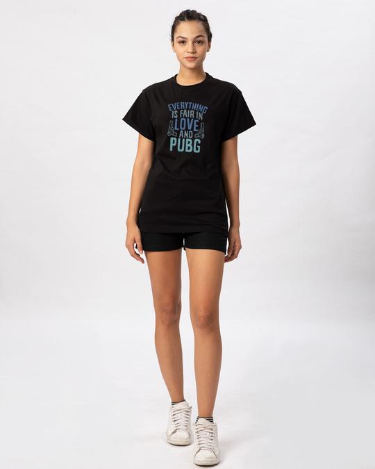 Shop Love And Pubg Boyfriend T-Shirt