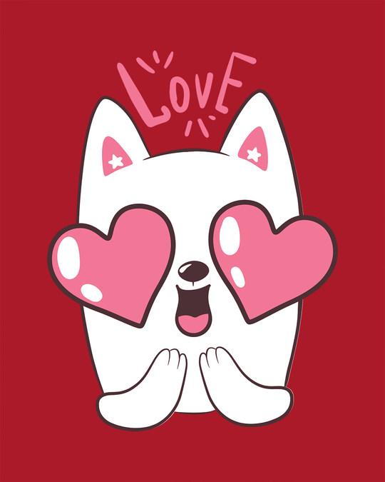 Shop Love Cat Boyfriend T-Shirt