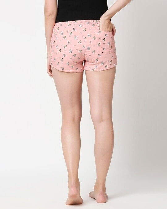 Shop Love Cupcake All Over Printed Boxer-Full