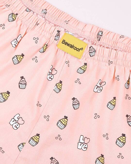 Shop Love Cupcake All Over Printed Boxer