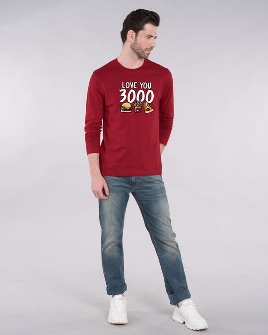 Shop Love Food 3000 Full Sleeve T-Shirt-Full
