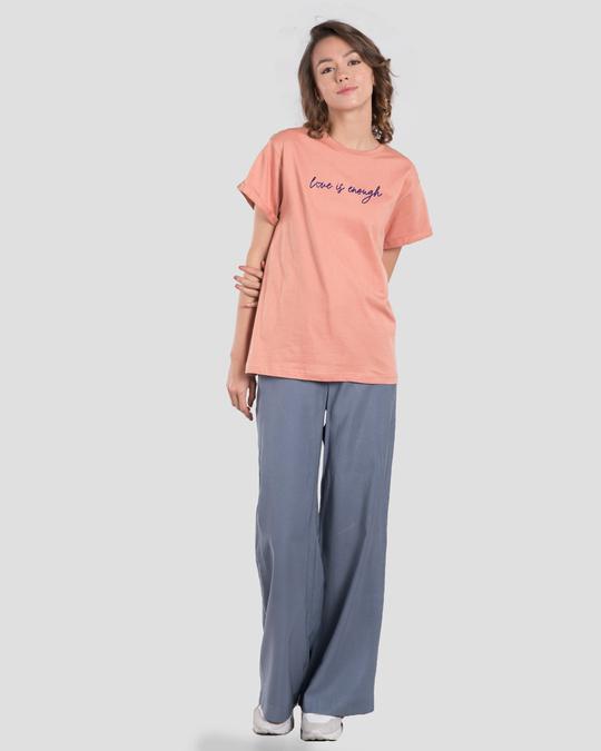 Shop Love Is Enough Boyfriend T-Shirt-Design