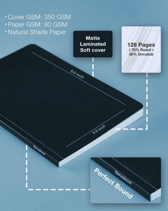 Shop Love Peace Bob Soft Bound Notebook-Full