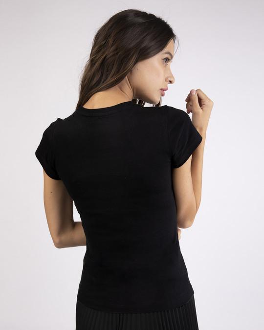 Shop Love Rose Half Sleeve T-Shirt-Back