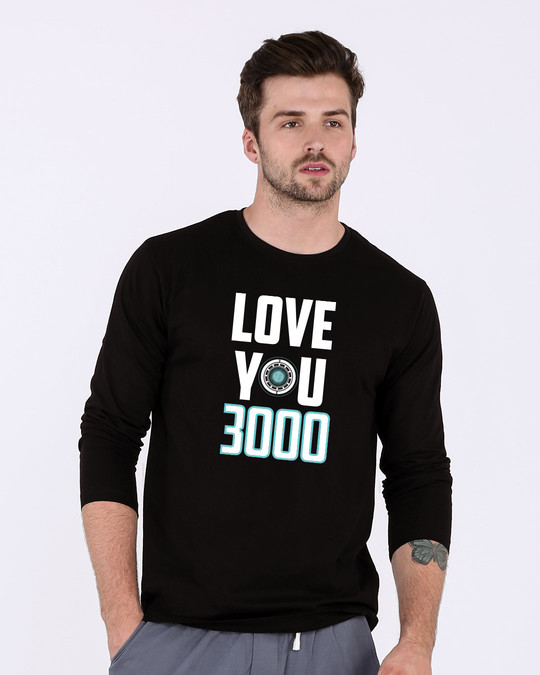 Shop Love You 3000 Full Sleeve T-Shirt (AVL)-Front