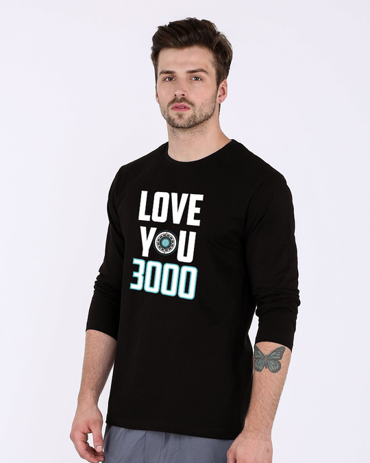 Shop Love You 3000 Full Sleeve T-Shirt (AVL)-Back