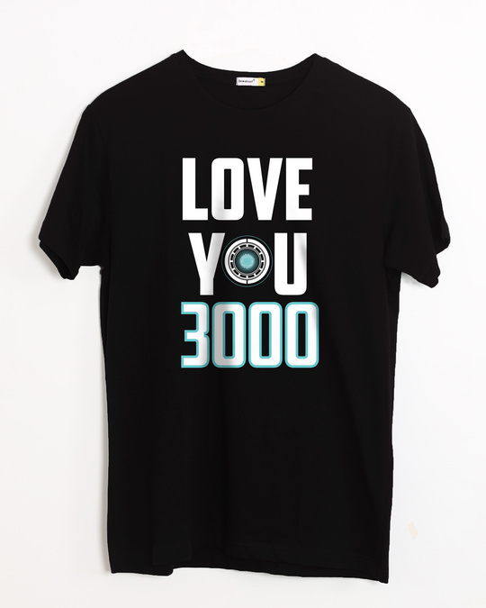 Shop Love You 3000 Half Sleeve T-Shirt (AVL)-Front