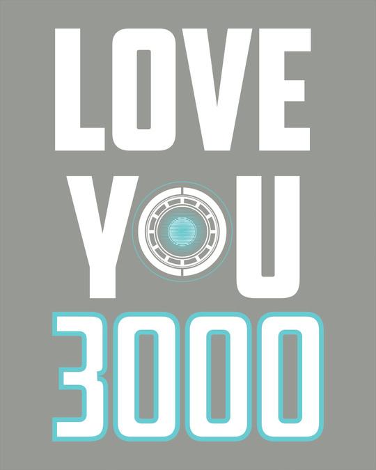 Shop Love You 3000 Half Sleeve T-Shirt (AVL)